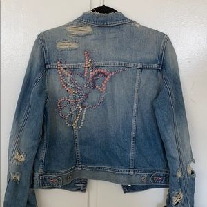 AG Jeans Denim Jacket Cher Coulter collab